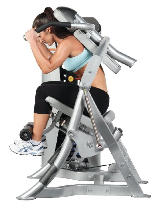 appareil musculation abdo salle de sport