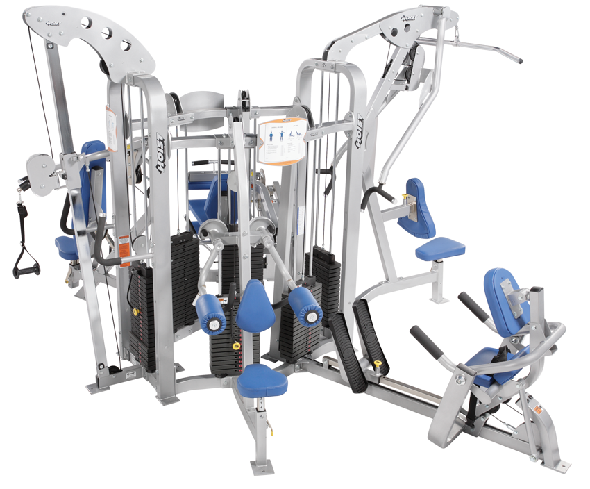 6 stations - Station de musculation professionnelle ...